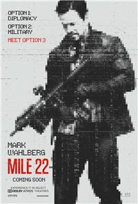 Mile 22 (2018) 1080p Poster