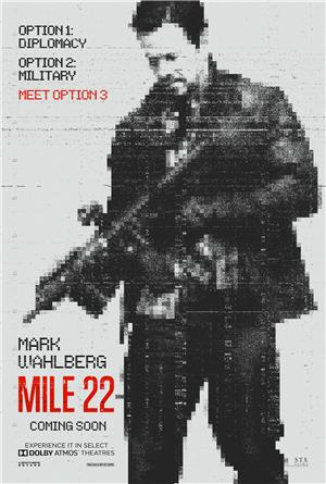 Mile 22 (2018) Poster