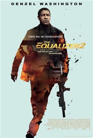 The Equalizer 2 (2018) 1080p Poster