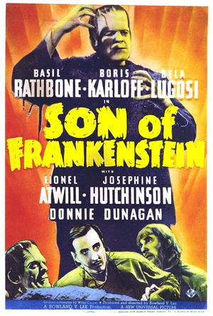 Son of Frankenstein (1939) 1080p Poster
