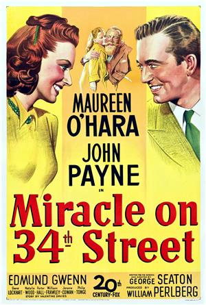 Miracle on 34th Street (1947) 1080p Poster