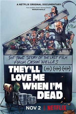 They'll Love Me When I'm Dead (2018) 1080p Poster