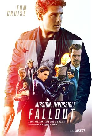Mission: Impossible - Fallout (2018) 1080p Poster