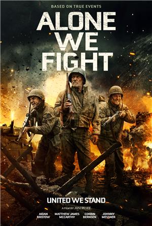 Alone We Fight (2018) 1080p Poster
