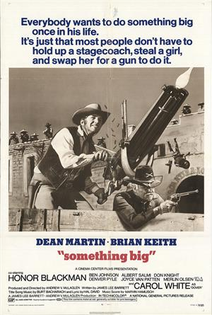 Something Big (1971) Poster