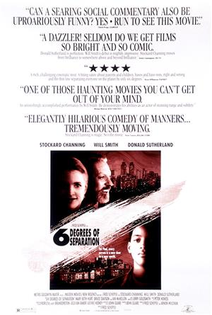 Six Degrees of Separation (1993) 1080p Poster