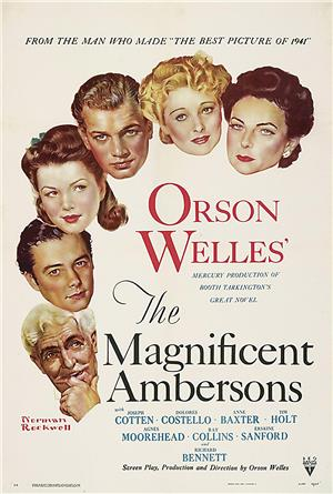 The Magnificent Ambersons (1942) 1080p Poster