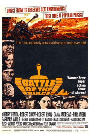 Battle of the Bulge (1965) 1080p Poster