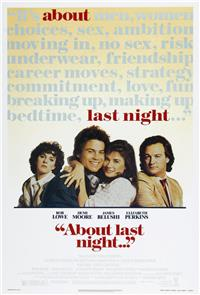 About Last Night... (1986) 1080p poster
