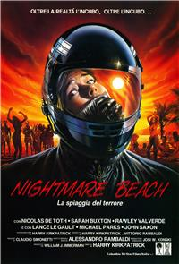 Nightmare Beach (1989) poster