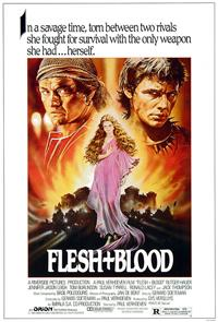 Flesh + Blood (1985) 1080p Poster