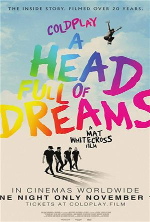 Coldplay: A Head Full of Dreams (2018) Poster