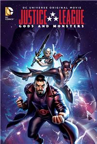 Justice League: Gods and Monsters (2015) 1080p poster