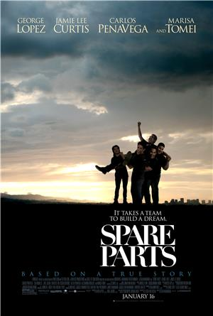 Spare Parts (2015) 1080p Poster