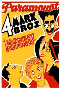 Monkey Business (1931) 1080p Poster