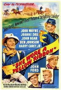 She Wore a Yellow Ribbon (1949) 1080p Poster
