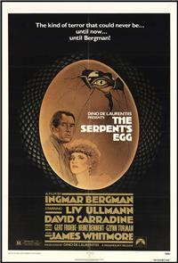 The Serpent's Egg (1977) Poster