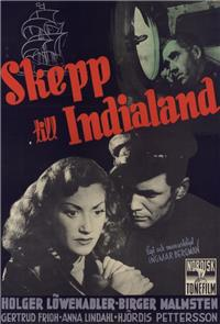 A Ship to India (1947) Poster