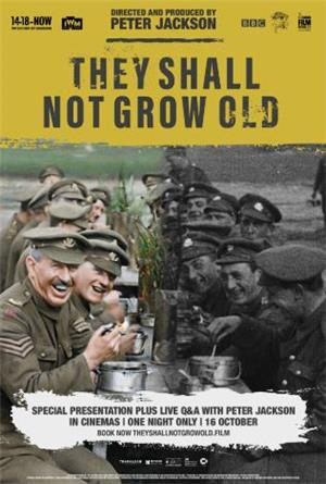 They Shall Not Grow Old (2018) 1080p Poster