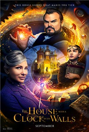 The House with a Clock in Its Walls (2018) 1080p Poster