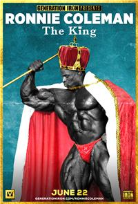 Ronnie Coleman: The King (2018) 1080p Poster
