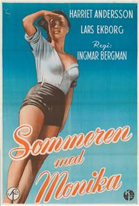 Summer with Monika (1953) 1080p Poster