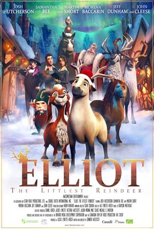 Elliot the Littlest Reindeer (2017) Poster
