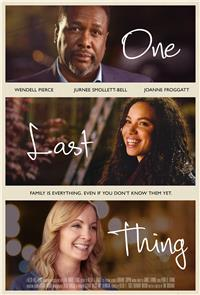 One Last Thing (2018) 1080p Poster