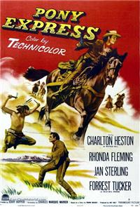 Pony Express (1953) poster