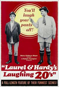 Laurel and Hardy's Laughing 20's (1965) Poster
