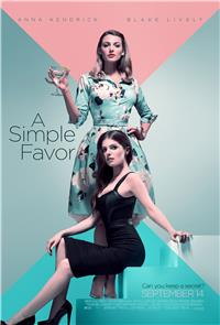 A Simple Favor (2018) 1080p Poster