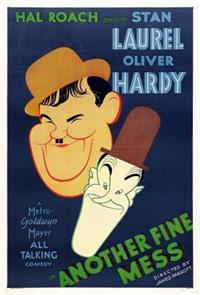 Another Fine Mess (1930) Poster