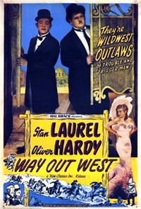 Way Out West (1937) 1080p Poster