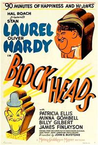 Block-Heads (1938) Poster
