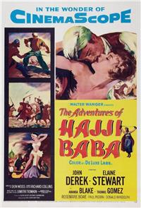 The Adventures of Hajji Baba (1954) Poster