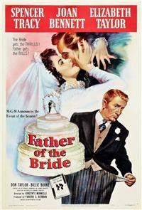 Father of the Bride (1950) 1080p Poster