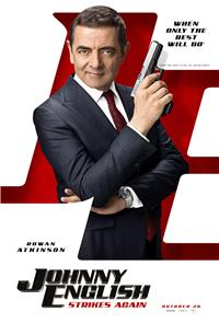 Johnny English Strikes Again (2018) 1080p Poster