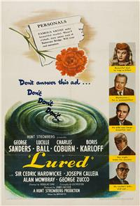 Lured (1947) Poster