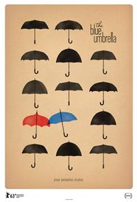 The Blue Umbrella (2013) 1080p Poster