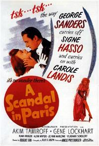 A Scandal in Paris (1946) 1080p Poster