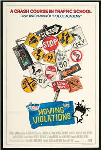 Moving Violations (1985) Poster