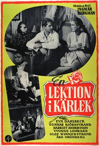 A Lesson in Love (1954) Poster