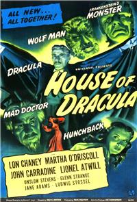 House of Dracula (1945) 1080p Poster