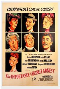 The Importance of Being Earnest (1952) Poster