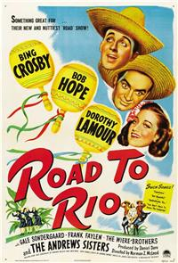 Road to Rio (1947) 1080p Poster
