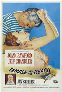 Female on the Beach (1955) Poster