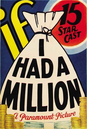 If I Had a Million (1932) 1080p Poster