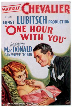 One Hour with You (1932) Poster