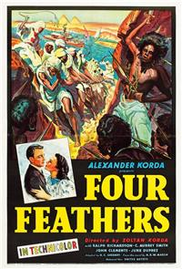 The Four Feathers (1939) Poster