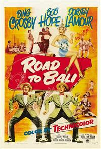 Road to Bali (1952) Poster